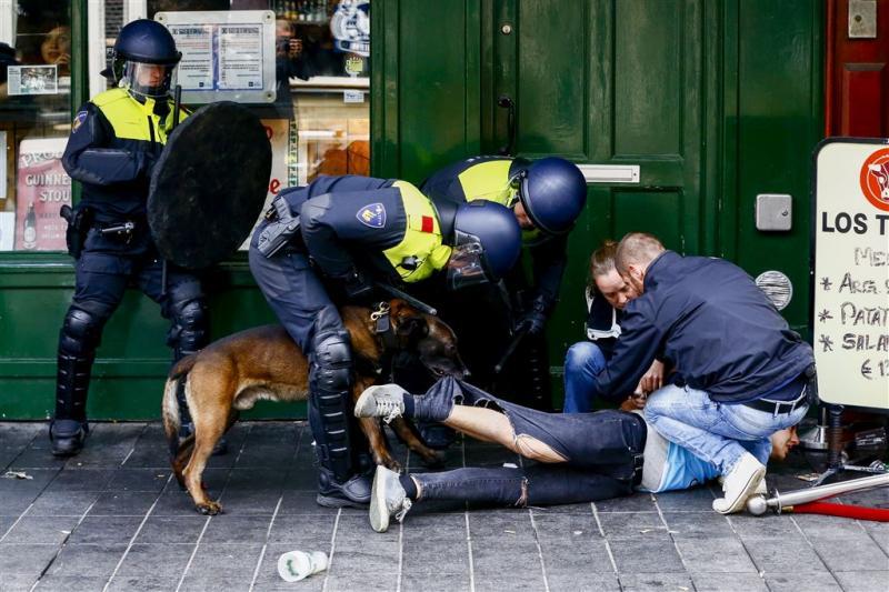 Meer arrestaties wegens rellen Rotterdam