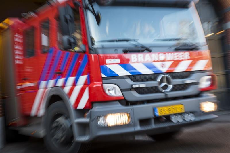Grote brand in recyclingbedrijf Noordwijk