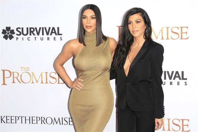 Kourtney Kardashian naakt voor fotoshoot
