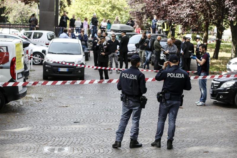 Explosieven tussen geparkeerde auto's Rome