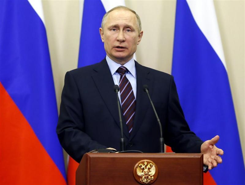 Poetin ziet rol bij aanpak crisis Noord-Korea