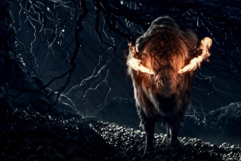 American Gods: bison