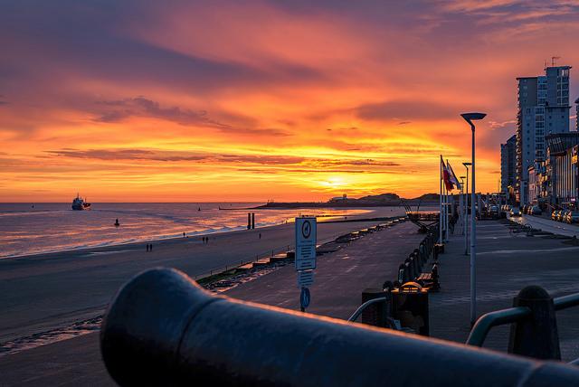 Fraaie zonsopgang bij Vlissingen (Foto: AlwaysHappy)