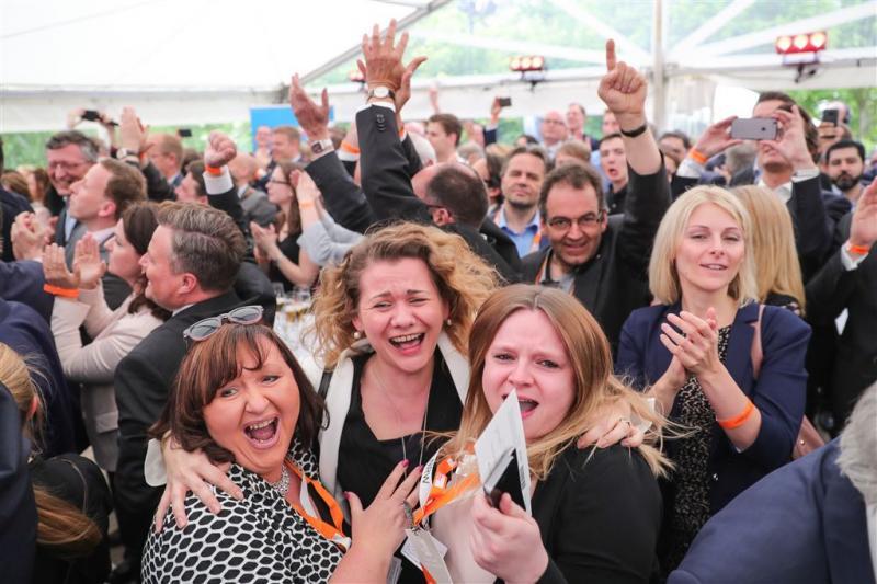 'CDU wint in Noord-Rijnland-Westfalen'