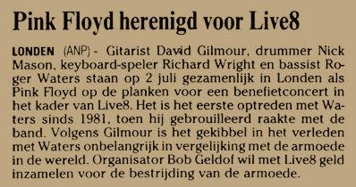 Uit de Leeuwarder Courant van 13 juni 2005