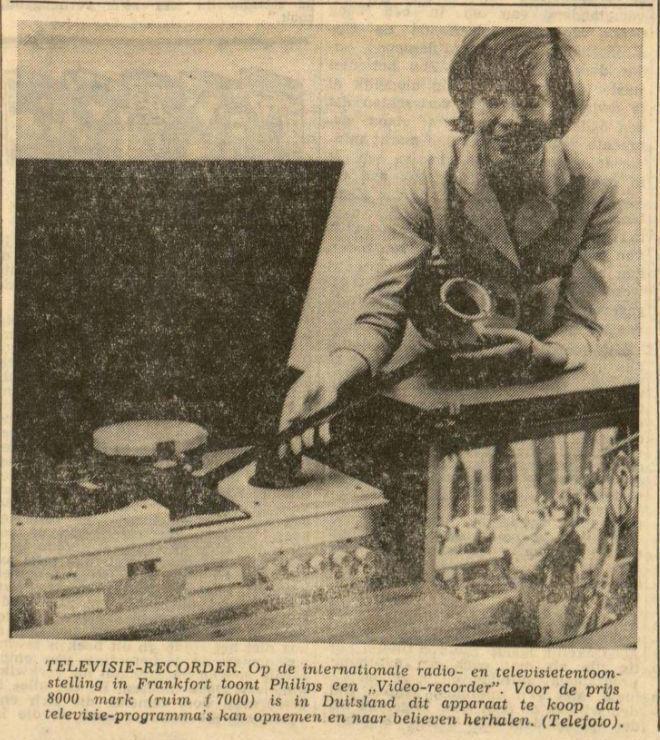 Uit de Leeuwarder Courant van 30 augustus 1965