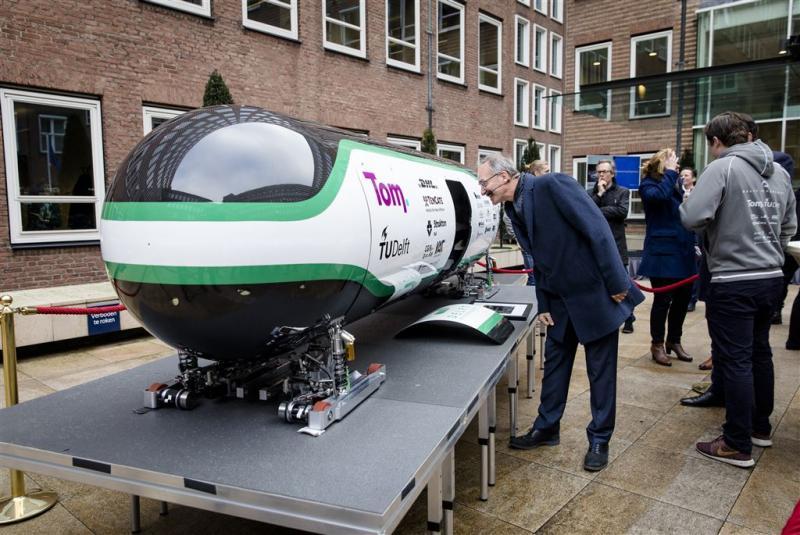 Delft krijgt testterrein hyperloop