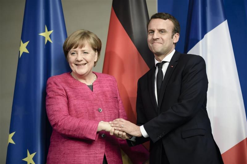 Macron en Merkel willen EU hervormen