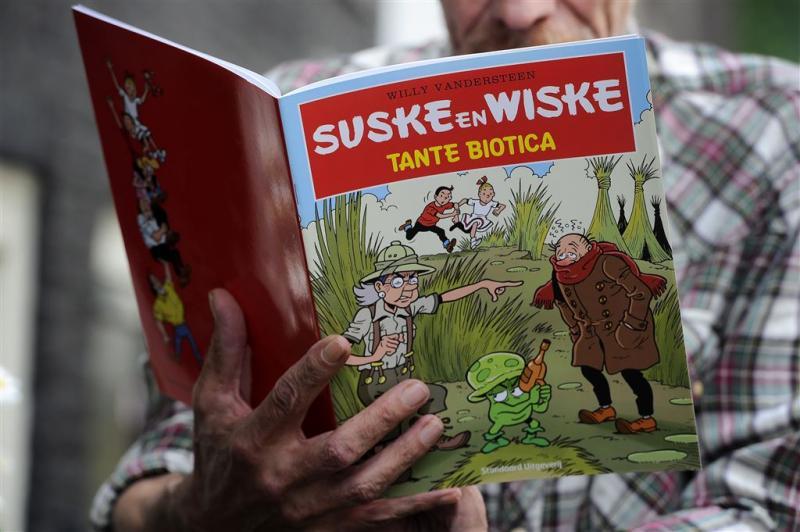 Suske en Wiske zijn weer bij de tijd