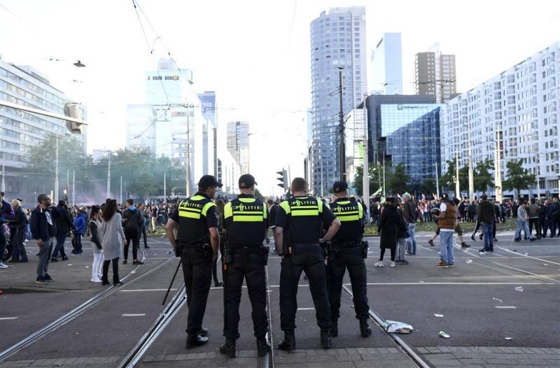 Politie: geen grote incidenten in Rotterdam