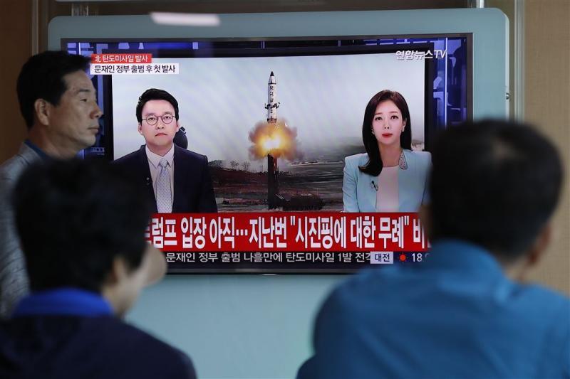 'Rakettest bedoeld voor mogelijkheid kernkop'