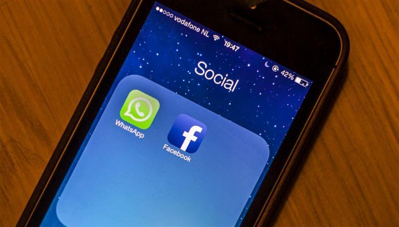 'Facebook wacht boete voor WhatsApp-deal'