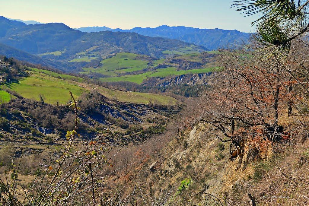 Ook de Passo del Carnaio biedt prachtige vergezichten (Foto: Panoramio)