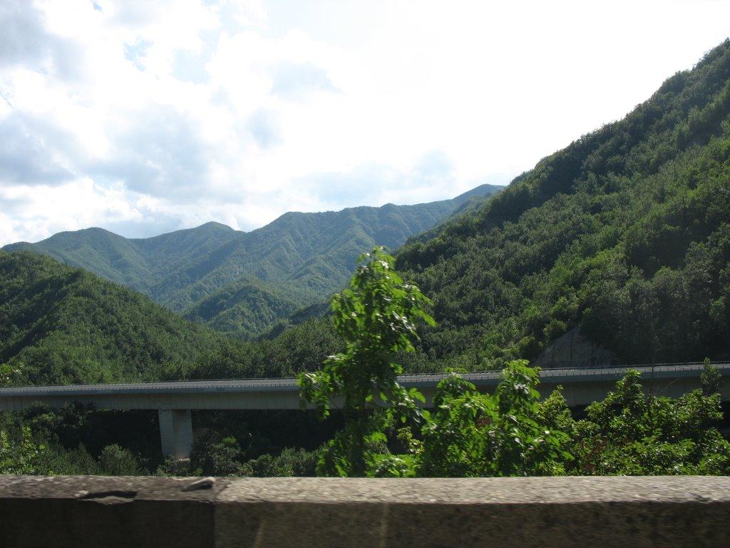 Nog meer beboste bergen hier (Foto: Panoramio)