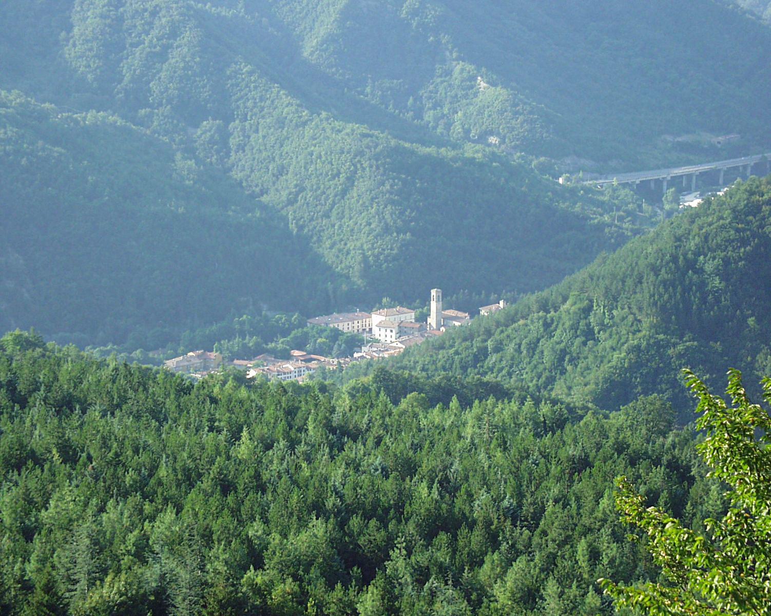 Bagno di Romagna ligt er wel mooi bij (Foto: WikiCommons)