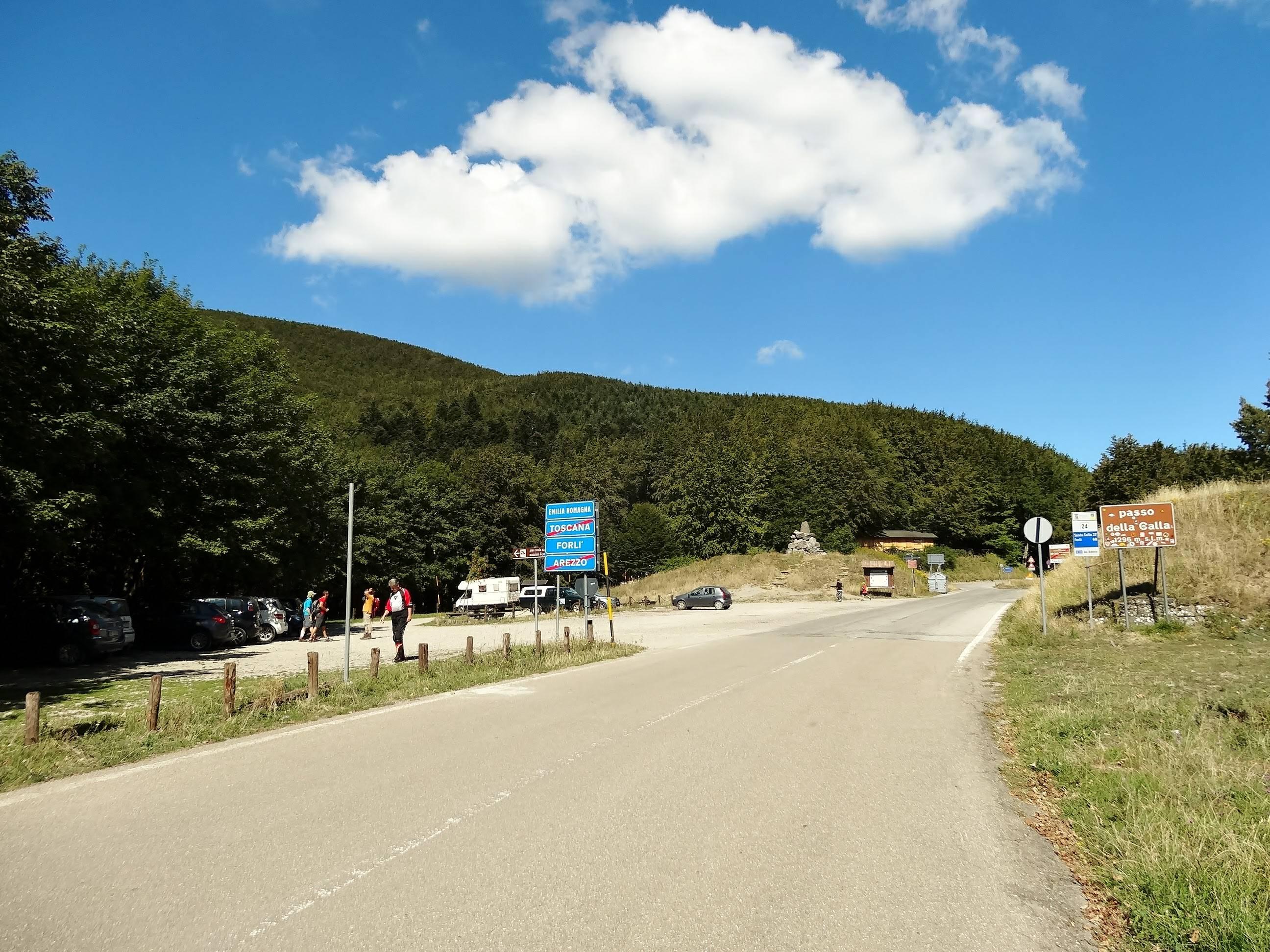 We rijden door mooie Italiaanse bossen vandaag (Foto: Panoramio)