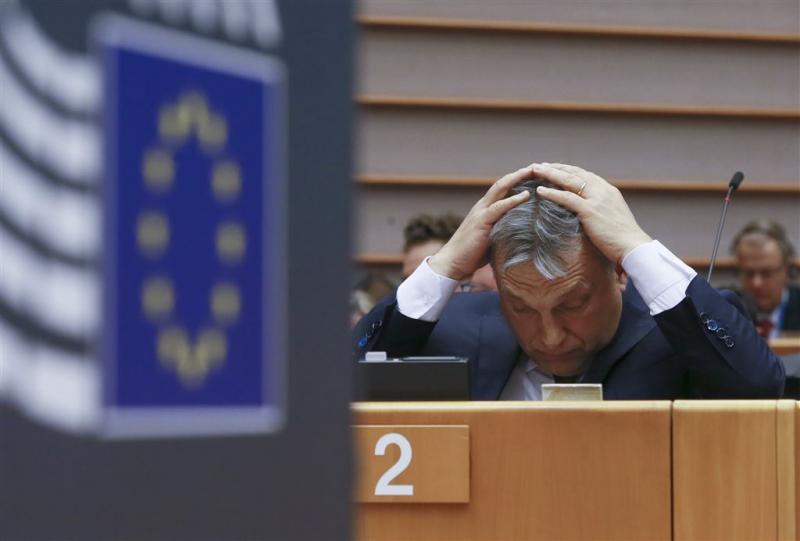 Europees Parlement zet Hongarije op strafbank