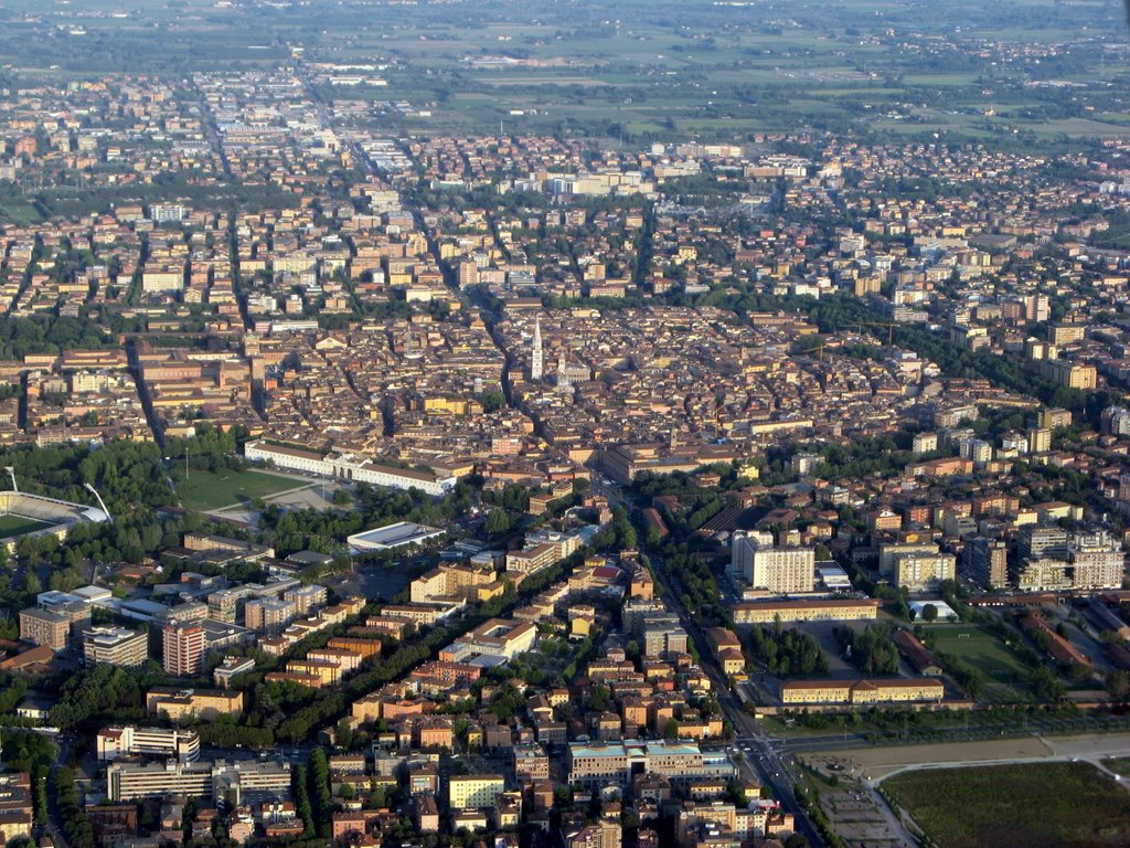 Vandaag rijden we door Modena (Foto: Panoramio)
