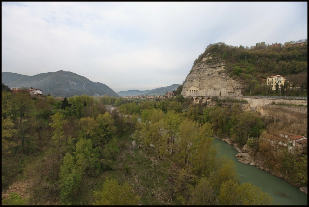 La Rupe bij Sasso Marconi (Foto: Panoramio)