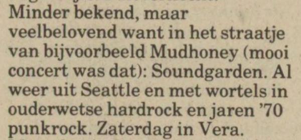 Uit het nieuwsblad van het Noorden van 19 mei 1989