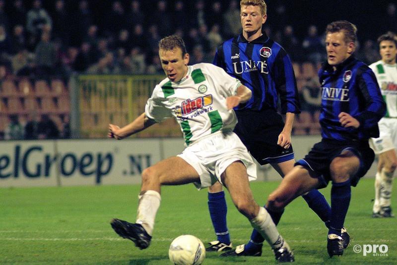 De jonge Robben in zijn begintijd bij FC Groningen (Pro Shots / Jan Kanning)