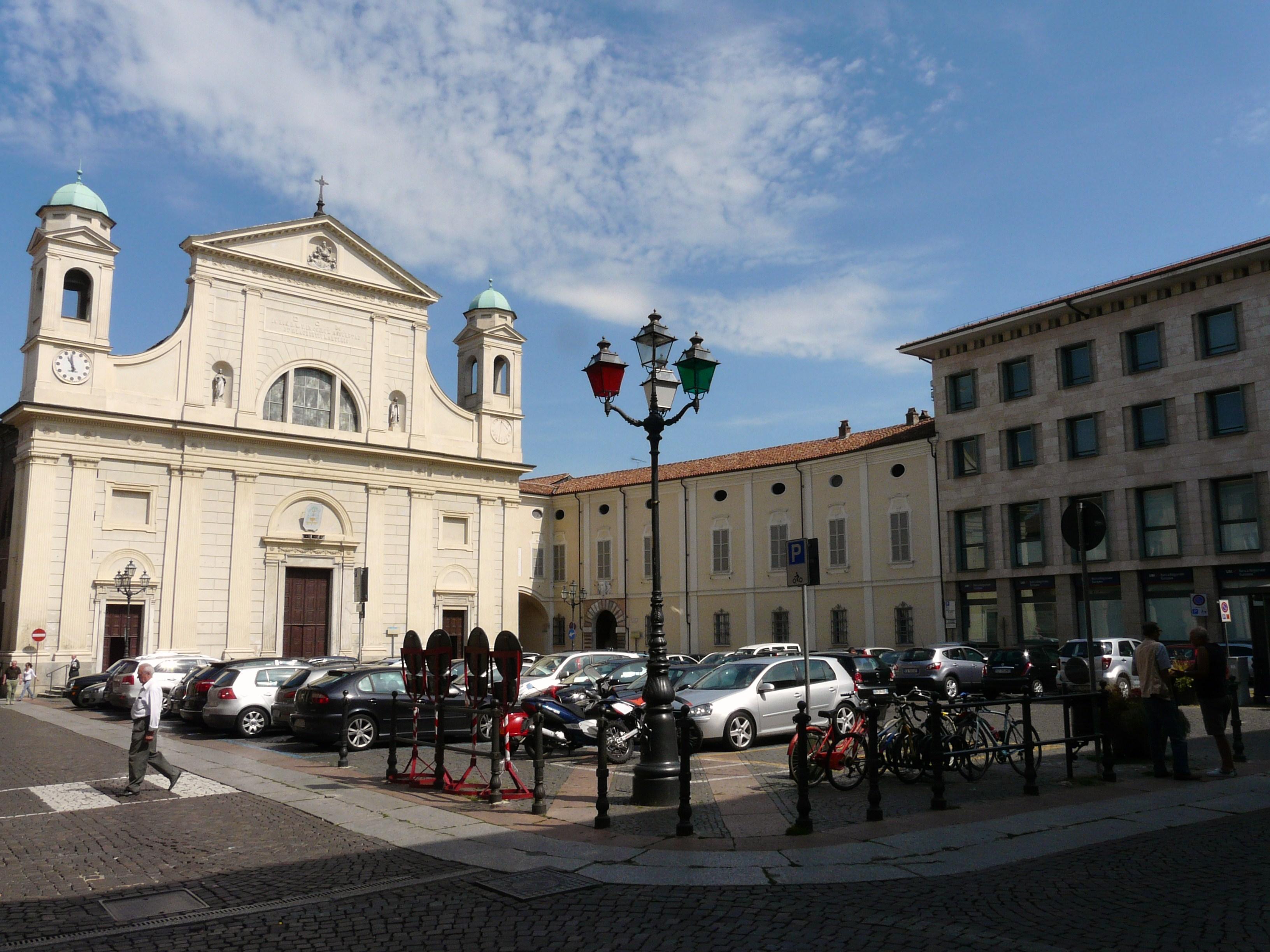 Tortona, de finishplaats van vandaag (Foto: Panoramio)