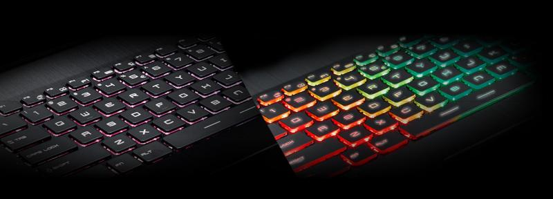 RGB toetsenbord