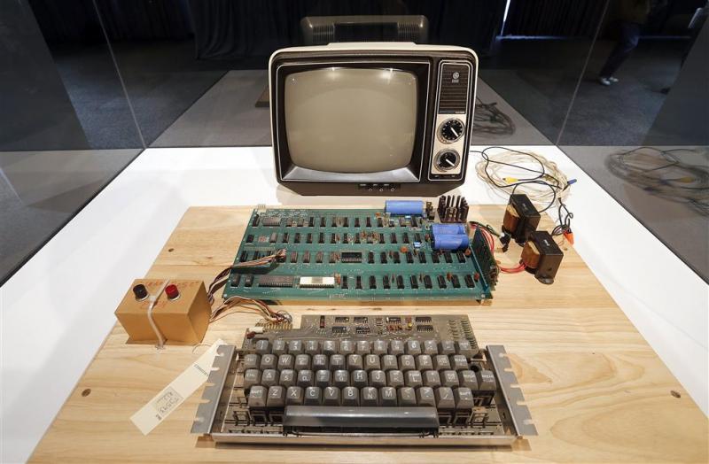 Cumputerliefhebber betaalt ton voor Apple 1