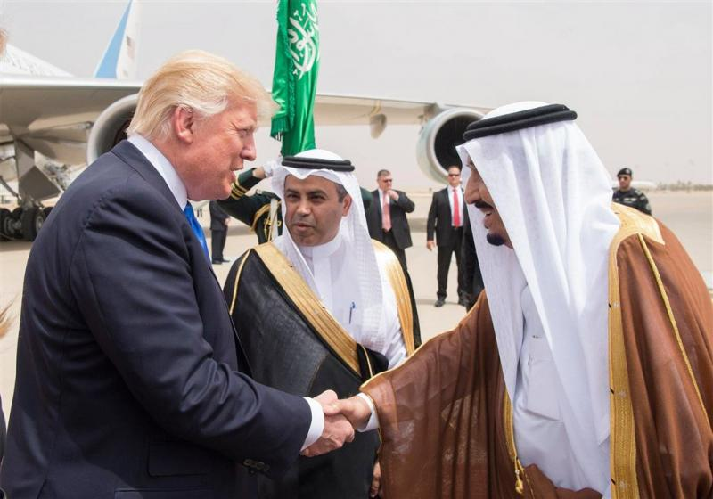Trump krijgt onderscheiding in Saudi-Arabië