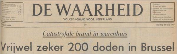Uit de Waarheid van 23 mei 1967