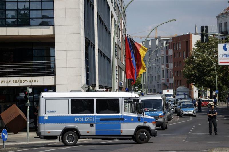 Chemicaliënvondst Neukirchen wijst op aanslag