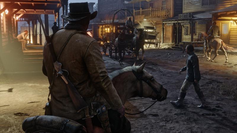 Red Dead Redemption 2 Stad