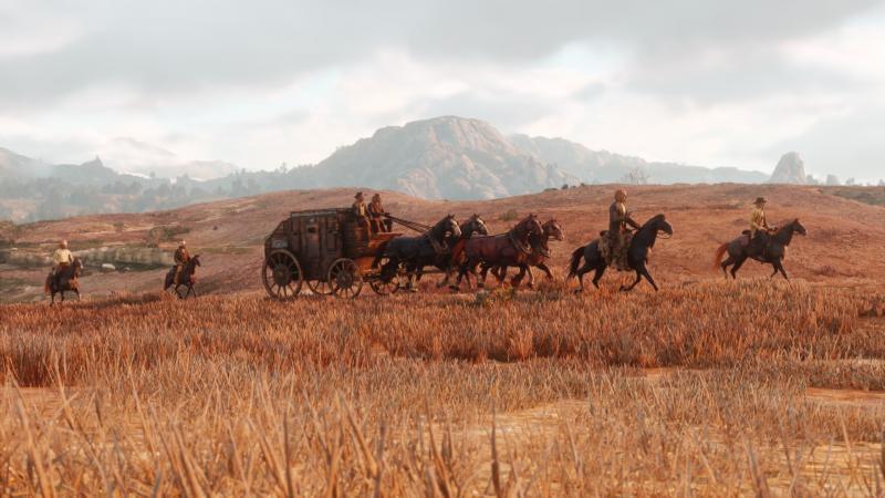 Red Dead Redemption 2 Paarden