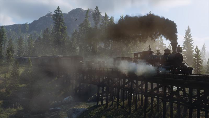 Red Dead Redemption 2 Spoorbrug