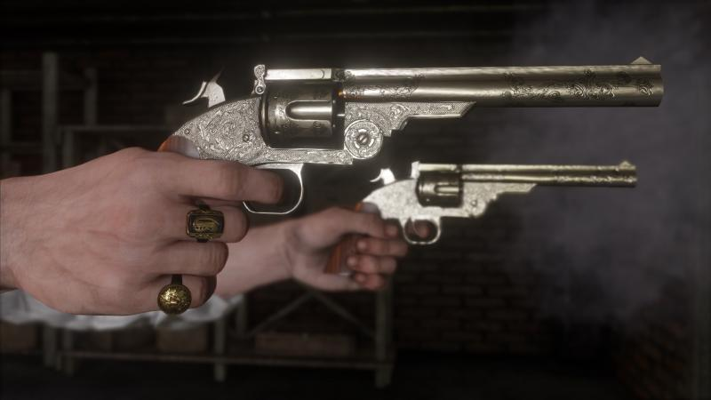 Red Dead Redemption 2 Pistolen