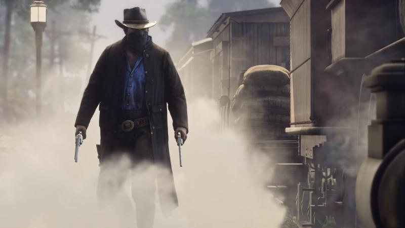 Red Dead Redemption 2 Trein