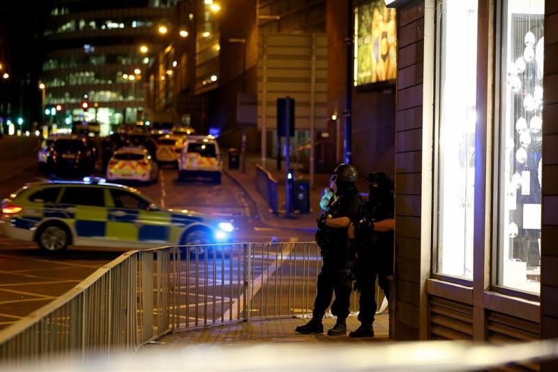 Foto's online van vermiste kinderen Manchester