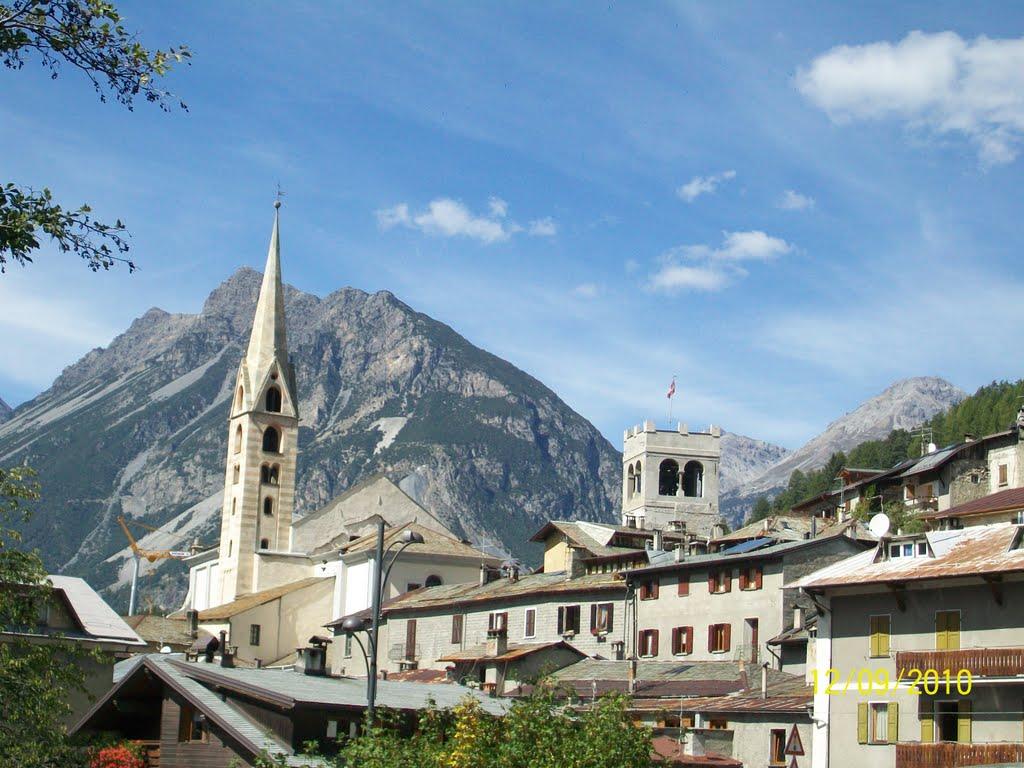 Prima uitzicht voor de bewoners van Bormio (Foto: Panoramio)