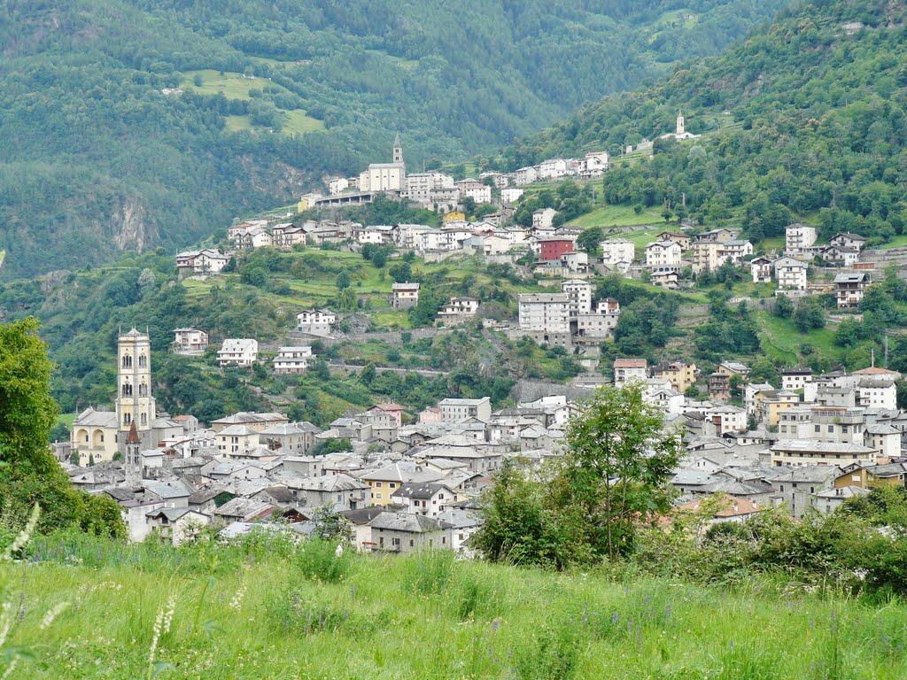 Genoeg bekijks tijdens de afdaling van de Mortirolo (Foto: Panoramio)