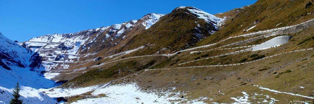 Een van de mooiste beklimmingen van Europa, noemt men de Stelvio (Foto: Panoramio)