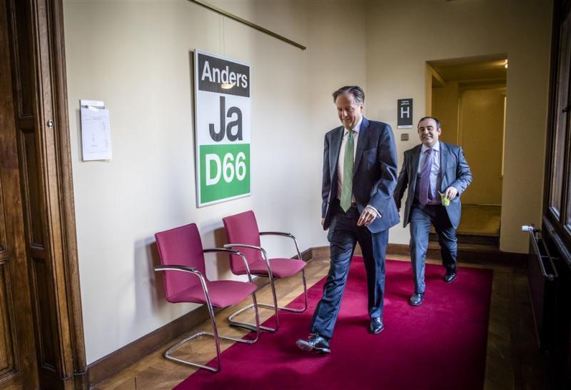 D66 bijeen over gesprek met ChristenUnie