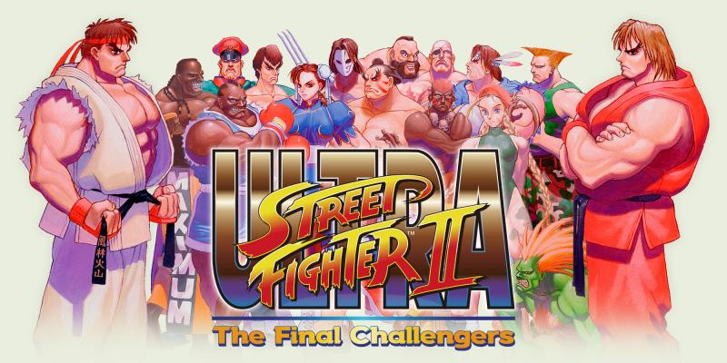 Ultra Street Fighter II Banner