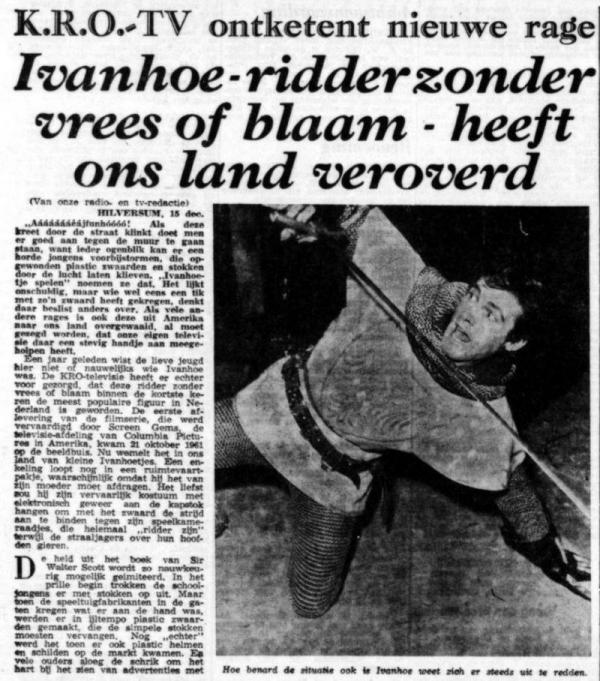 Uit de Maasbode van 15 december 1962
