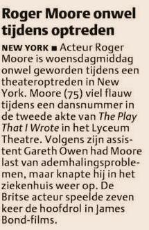 Uit het Dagblad van het Noorden van 9 mei 2003