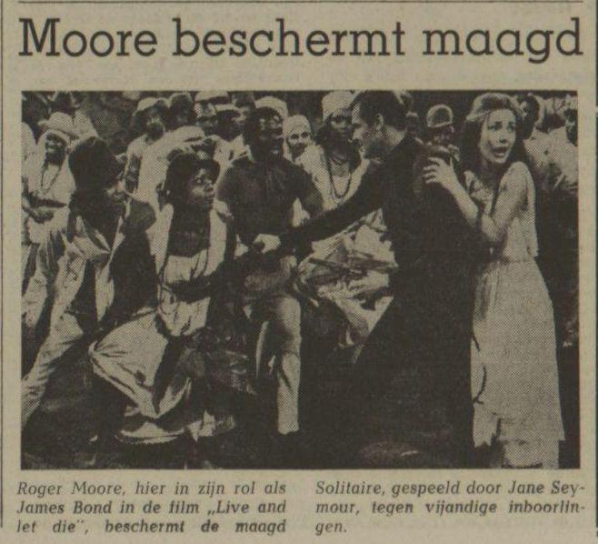 Uit het Nieuwsblad van het Noorden van 10 februari 1973