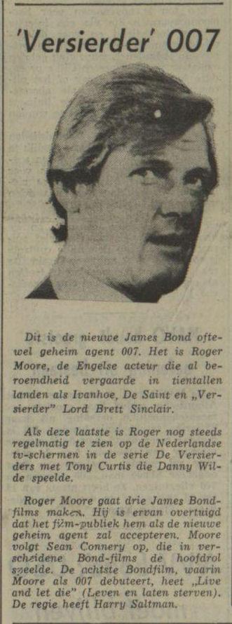 Uit het Nieuwsblad van het Noorden van 2 augustus 1972