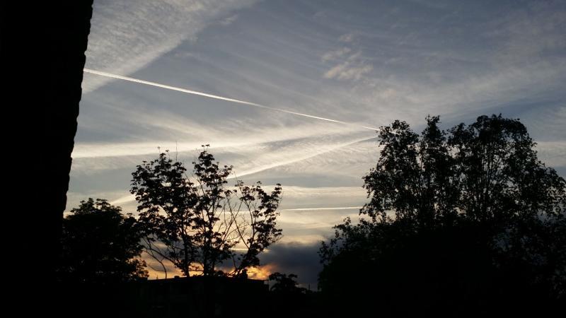 Zonsondergang in Purmerend (Foto: Spylacopa_68)