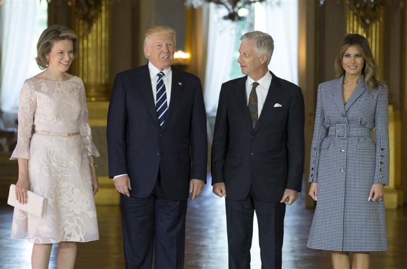 Trump 'enthousiast' over België
