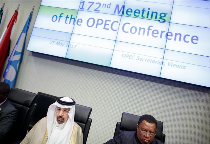 'Akkoord OPEC verlenging productieverlaging'