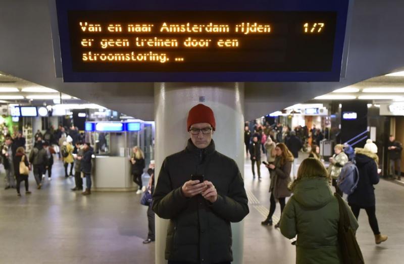 Treinpassagiers Amsterdam woedend op NS